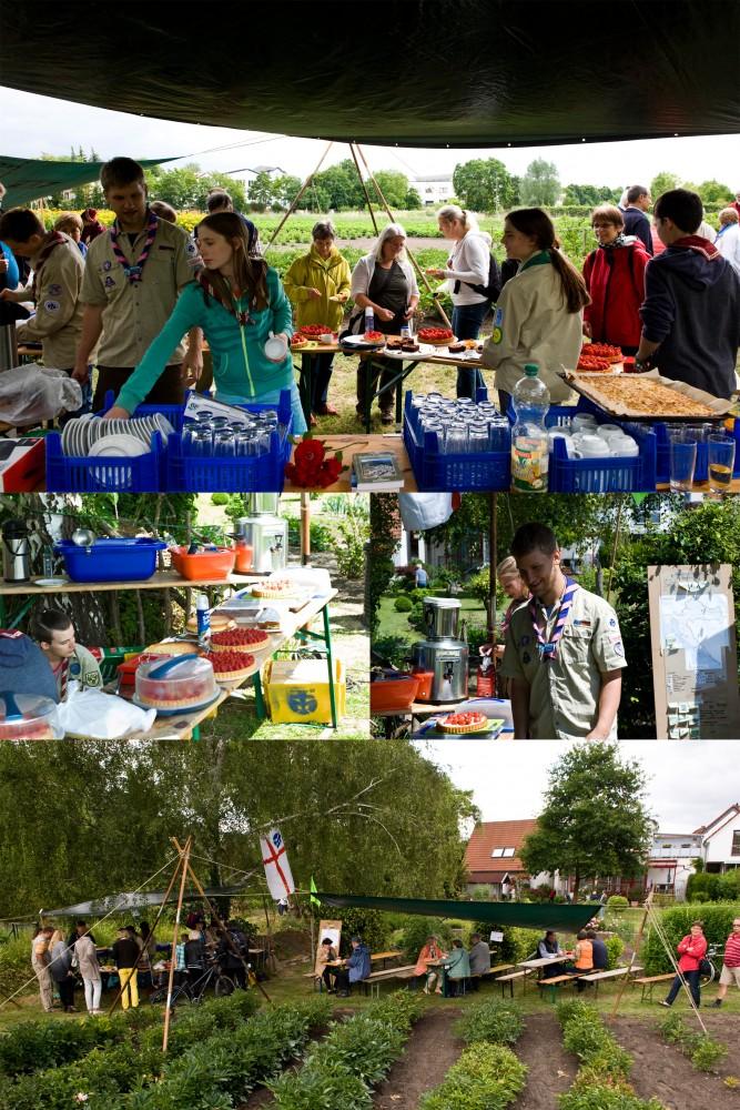 2015_06_20_Tag der offenen Gärten - Pfadi-Kuchenverkauf